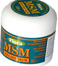 MSM Relief Rub, Flora